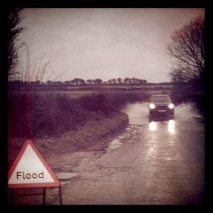 January floods